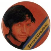 Bernard Giraudeau - Vintage Button Badge